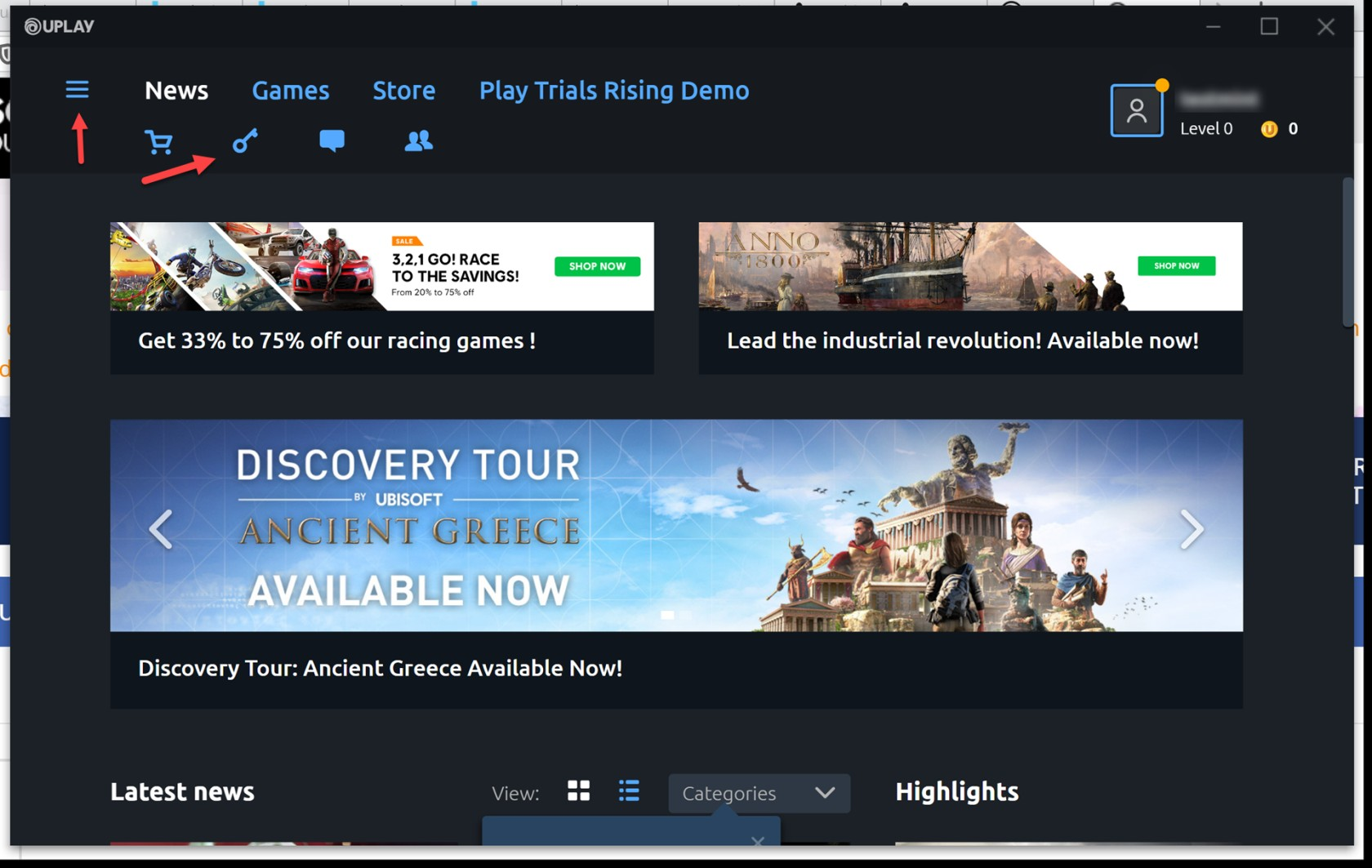 Activate a Product on Uplay